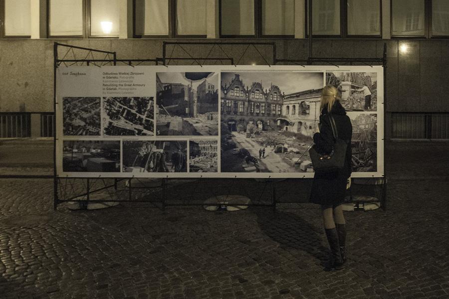 Wystawa plenerowa na ul. Tkackiej (fot. Jerzy W. Wołodźko)