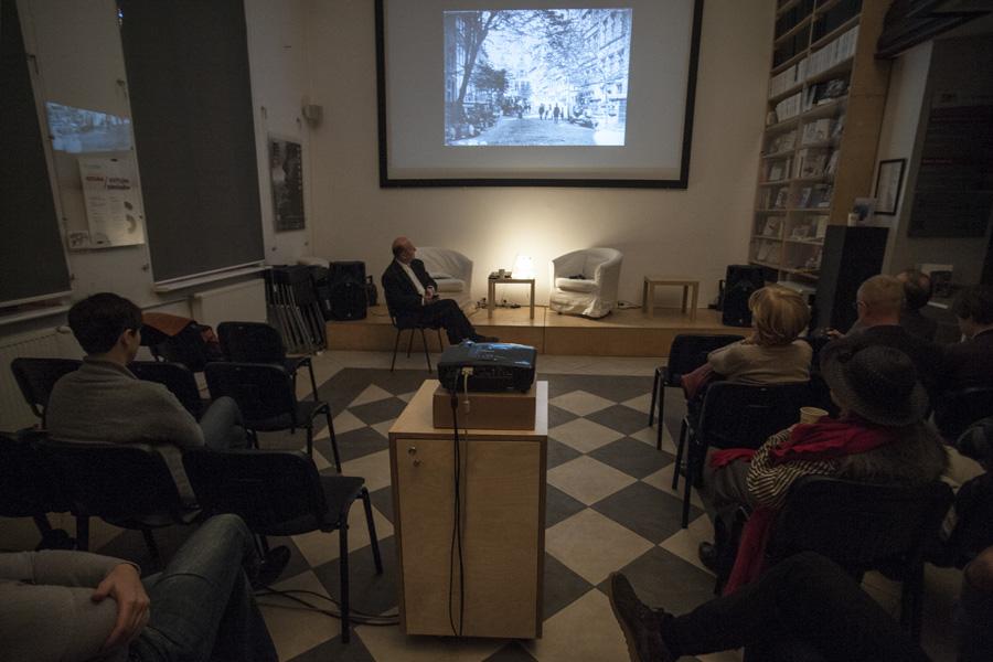 Promocja w Instytucie Kultury Miejskiej (fot. Jerzy W. Wołodźko)