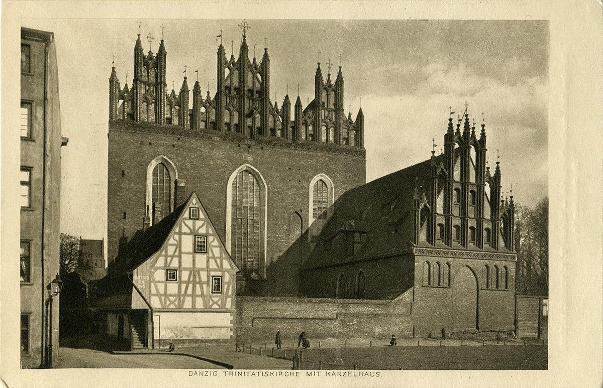 Gottheil - Dom krużgankowy przy kościele św. Trójcy - retusz