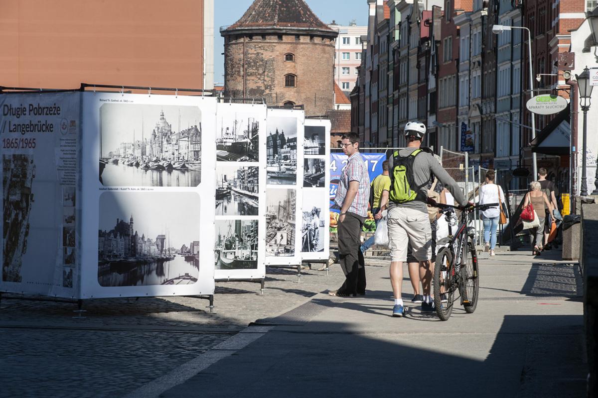 Wystawa Długie Pobrzeże na fotografii z lat 1865-1965. Czerwiec 2016 r.